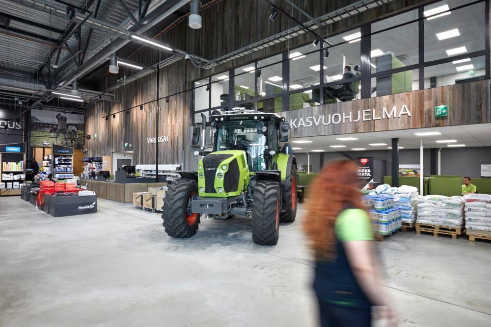 Hankkija Seinäjoki konseptiuudistus